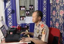 Peserta Serdik Sespim Polri Dimasa Pandemi Covid-19 Secara Online Tetap Semangat