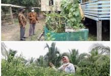 Camat Sumber Marga Telang Sampaikan Intruksi Bupati Banyuasin, Warga Nikmati Hasilnya