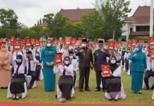 Bupati Askolani Resmikan CPNS Disabilitas Formasi 2019 Dengan Berjemur