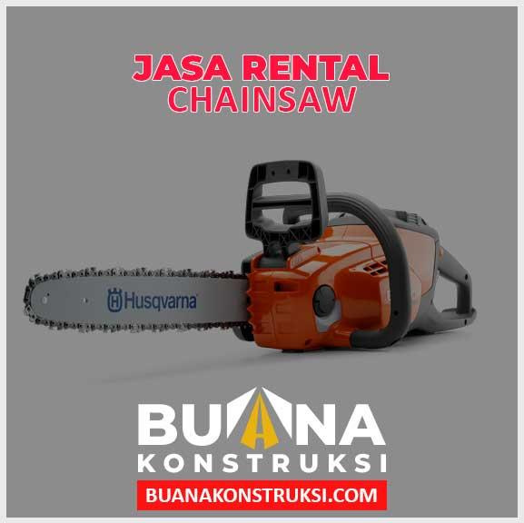 Jasa Rental Chainsaw