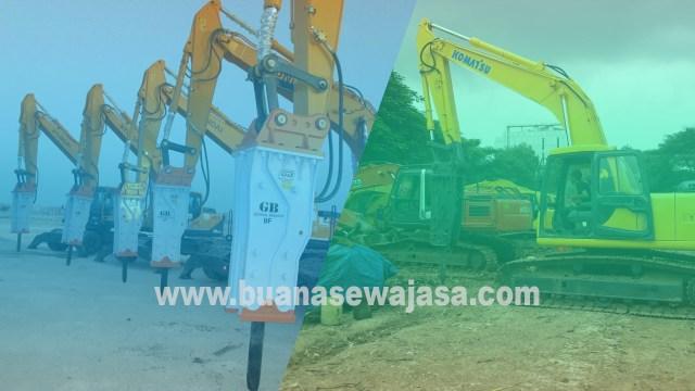 Harga Sewa Excavator Breaker
