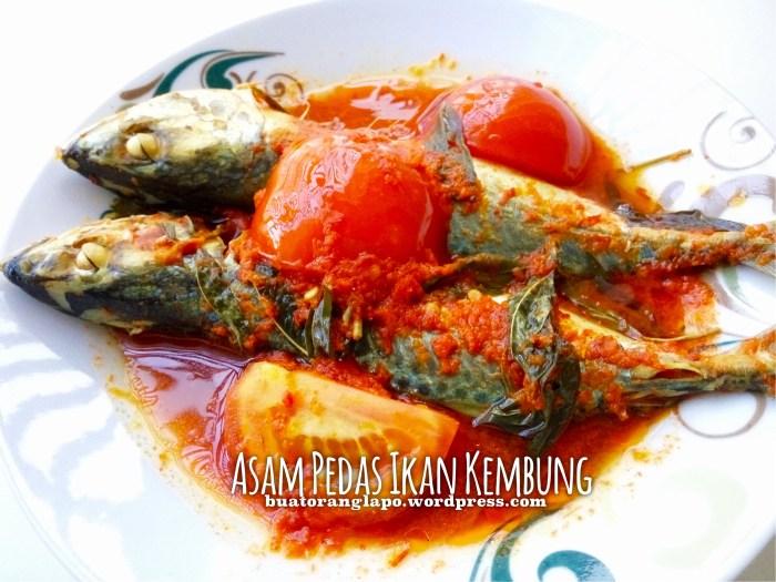 asam pedas ikan kembung