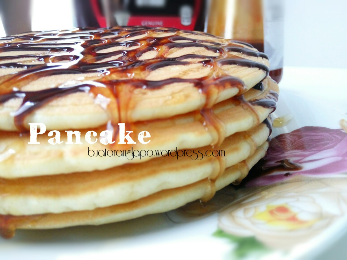 Pancake without Freshmilk (Penkek tanpa susu)