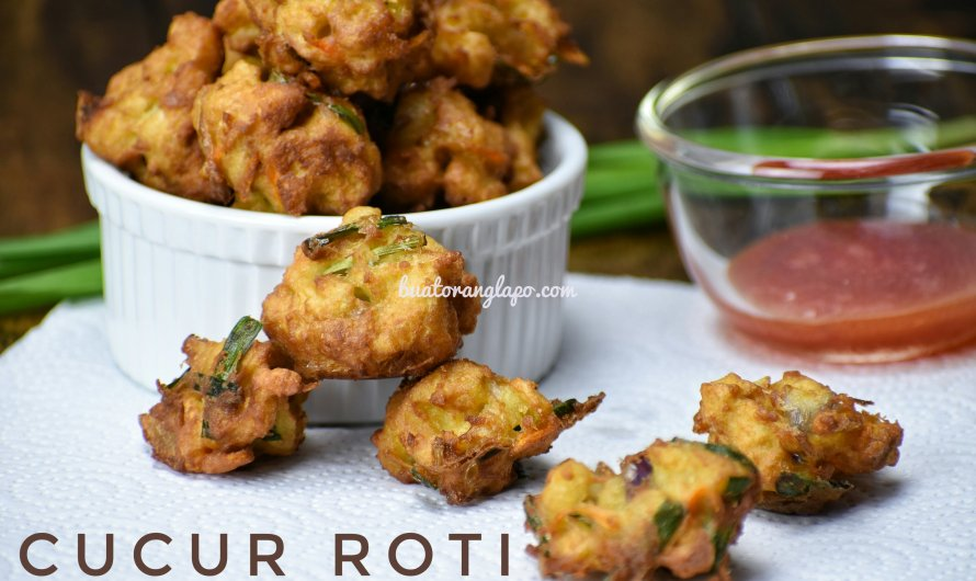 Cucur Roti Simple dan Sedap