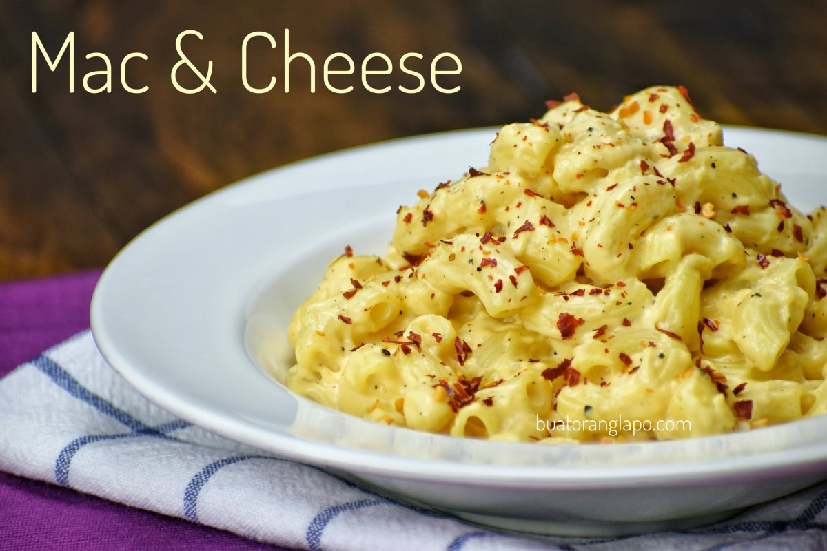 Mac & Cheese (Makaroni dan Keju)