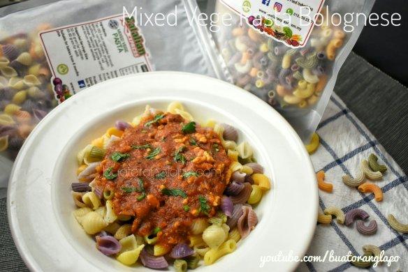 mixed vege pasta