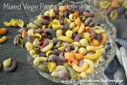 mixed vege pasta