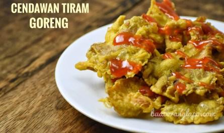 Cendawan Tiram Goreng Rangup