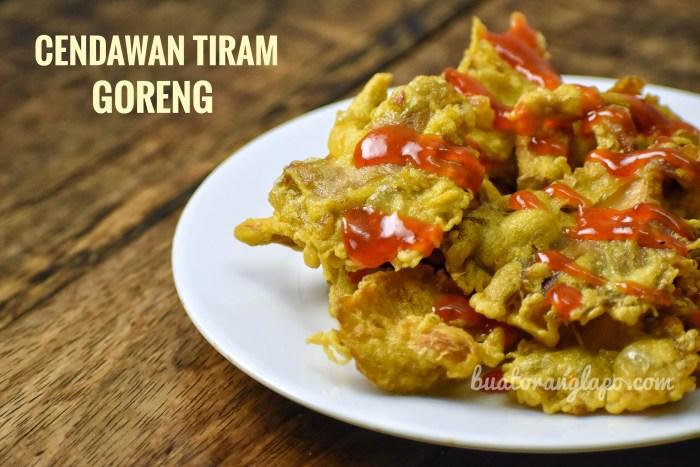 Cendawan Tiram Goreng