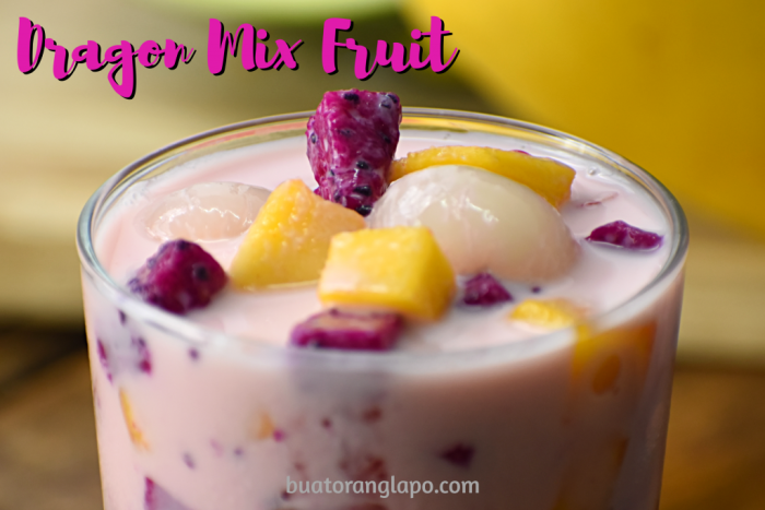 dragon mix fruit