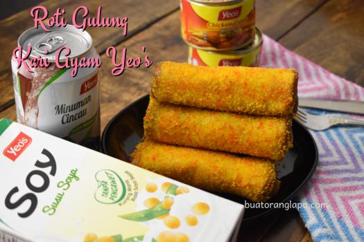 Roti Gulung Kari Ayam Yeo's