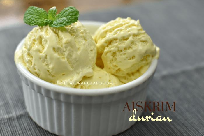 Aiskrim Durian