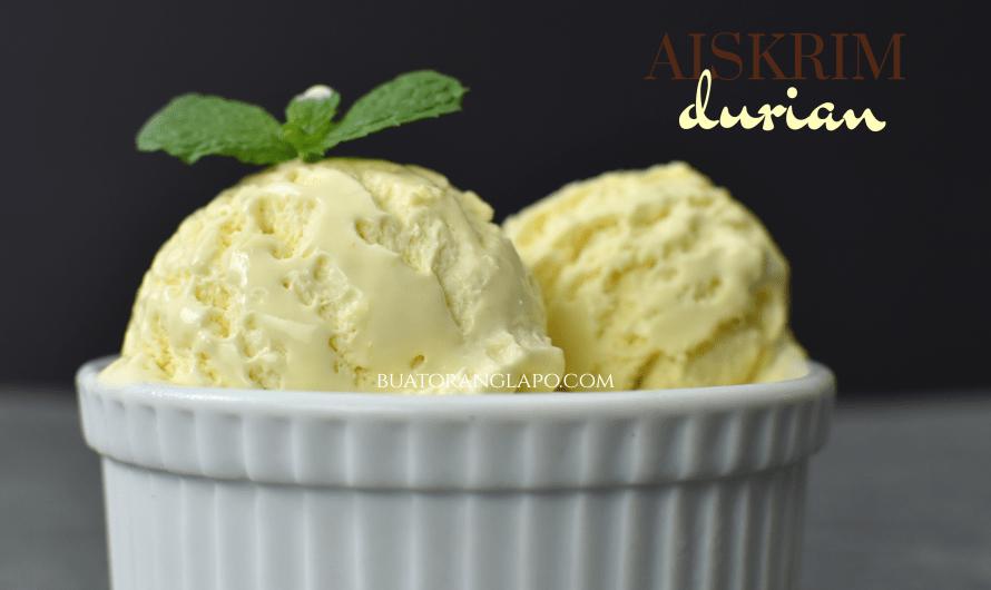Aiskrim Durian D24 Creamy Kalah McDonald