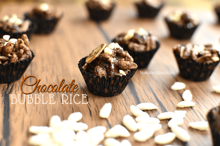 Chocolate Bubble Rice
