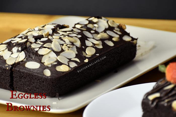 brownies tanpa telur