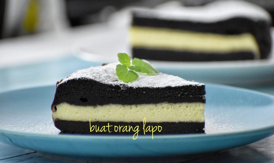 Kek Coklat Cheese Kukus Mudah dan Pasti Sedap