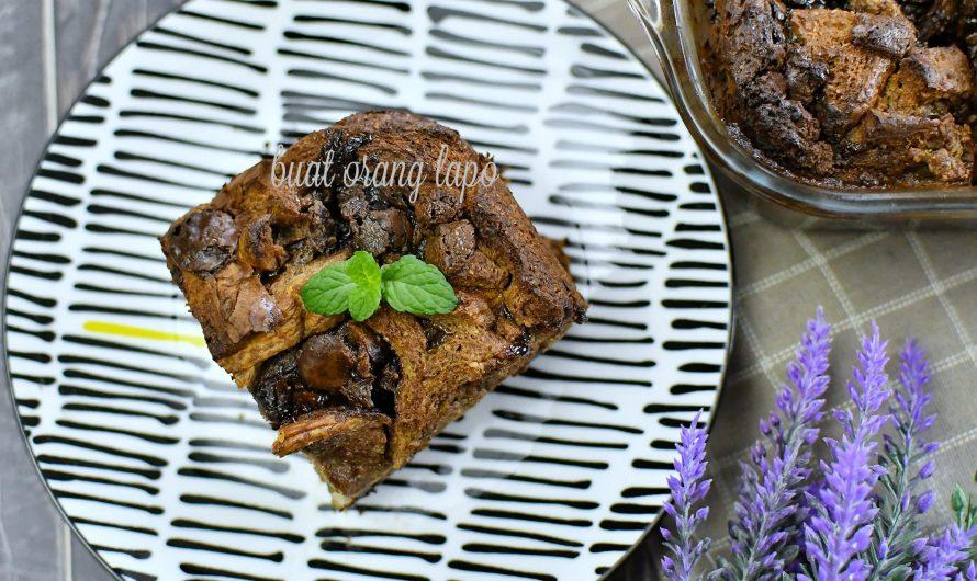 Puding Roti Coklat Lazat Dengan Rasa Coklat Mewah