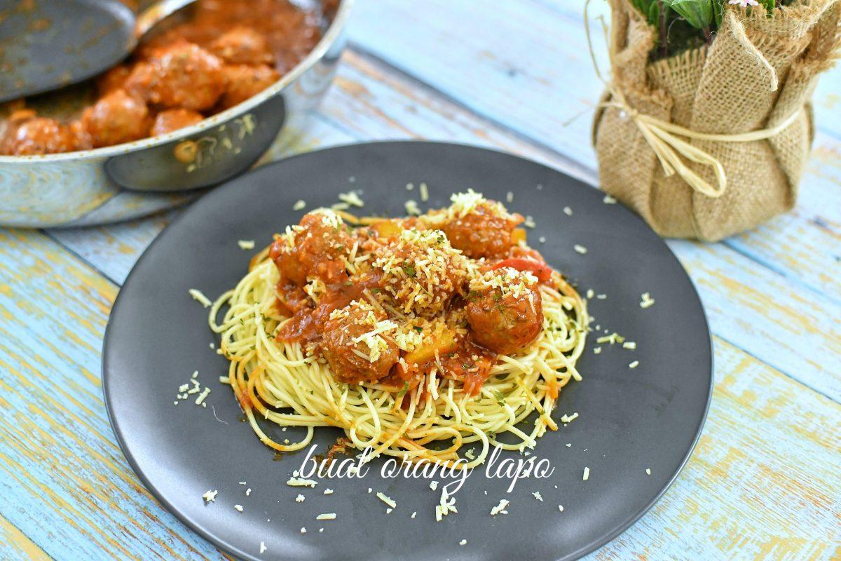 Meatball Spagheti