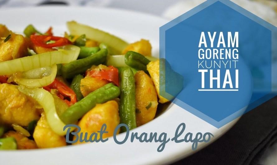 Ayam Goreng Kunyit ala Thai Yang Memikat Selera