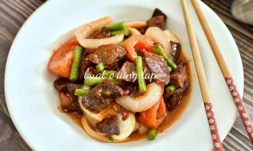 Daging Masak Merah Ala Thai Macam Kedai Thailand