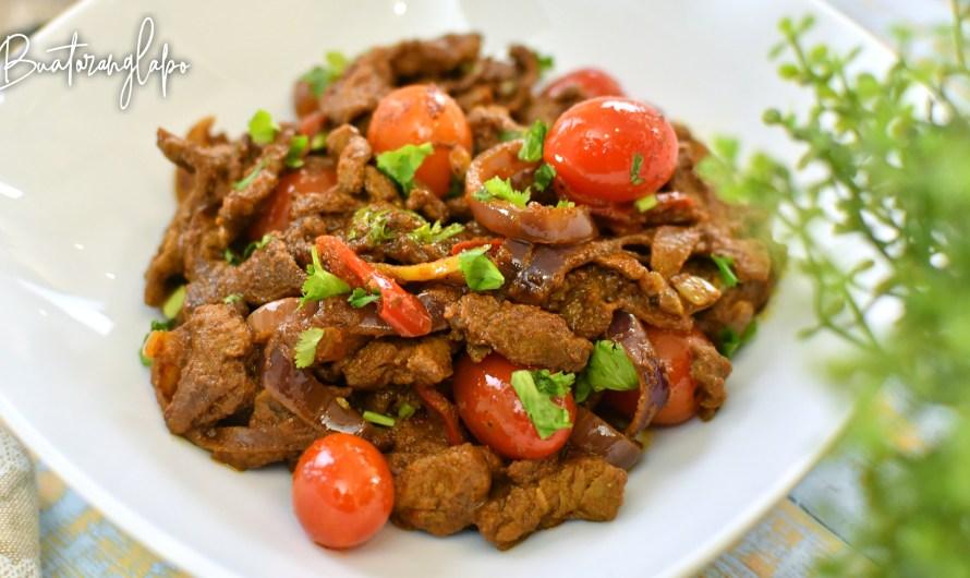 Resepi Daging Berempah Paling Senang Nak Buat