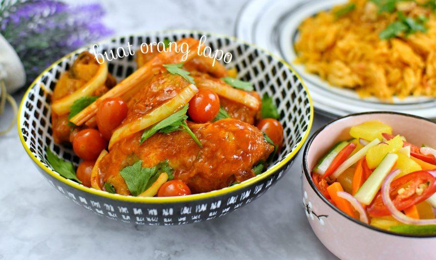 Ayam Masak Merah Dan Acar Timun Sunquick Sedap Macam Makan Dekat Rumah Orang Kenduri