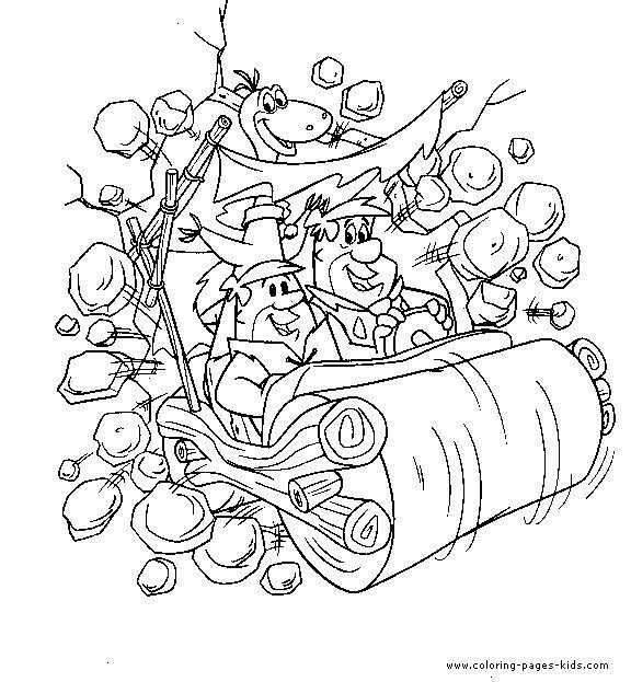 flintstones coloring pages # 39