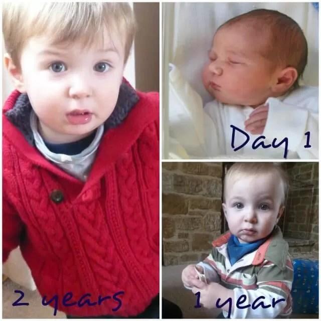 newborn to 2 years old