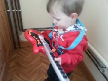 ELC toy guitar