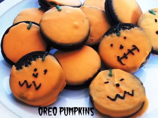 oreo pumpkins