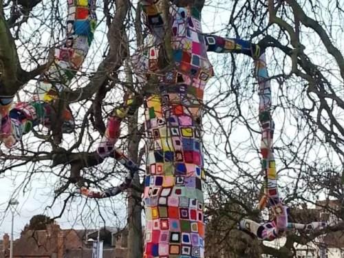 Stratford quilt tree
