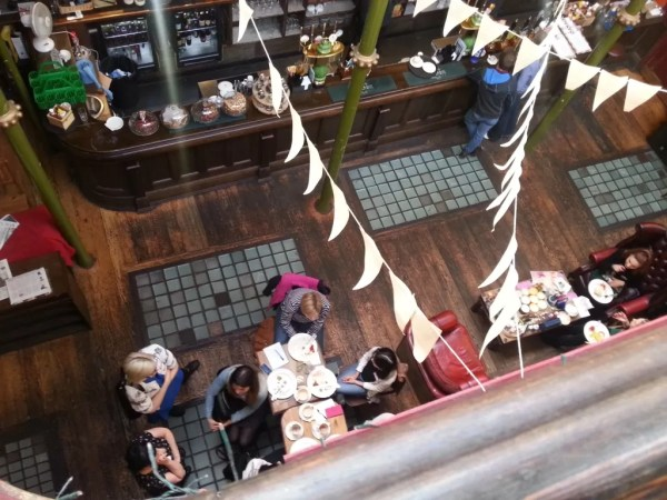 bunting in the Malt Cross