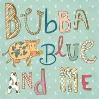 Bubbablue and me badge