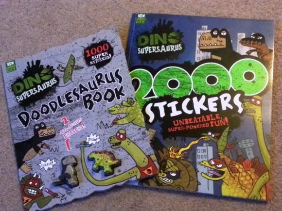 dinosaurus activity books