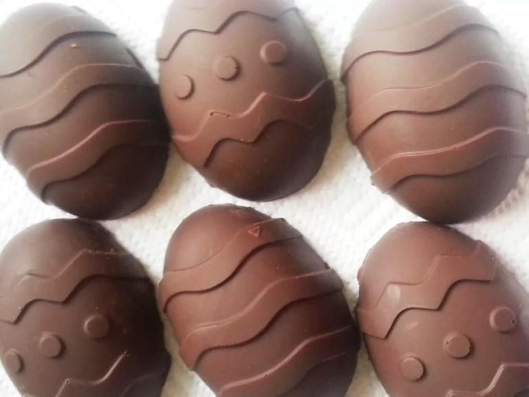 handmade easter egg moulds