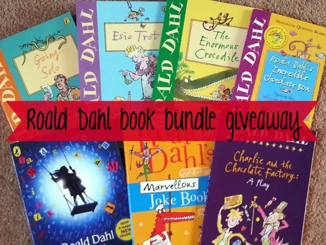 Roald Dahl book giveaway competition