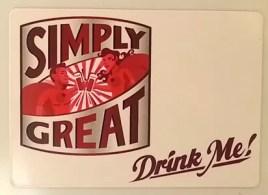 pomegreat drink