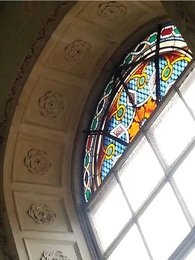 stained glass at compton verney