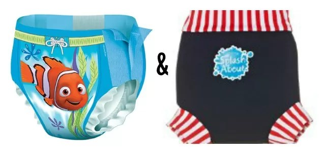 double nappy system for swimming