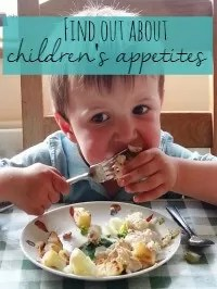 3 year old appetites