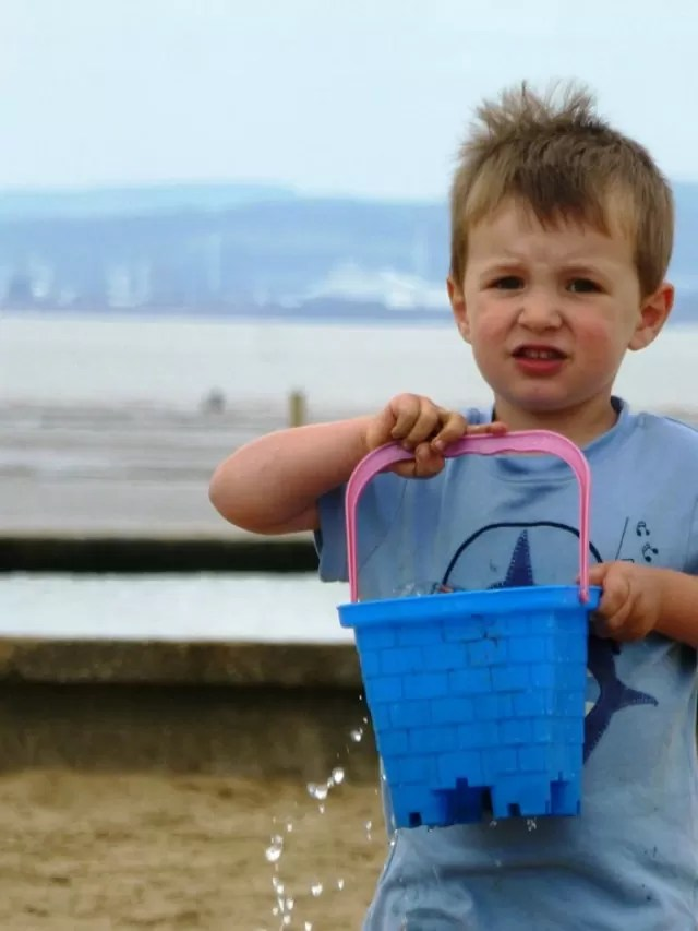 bucket-of-water-weston-super-mare