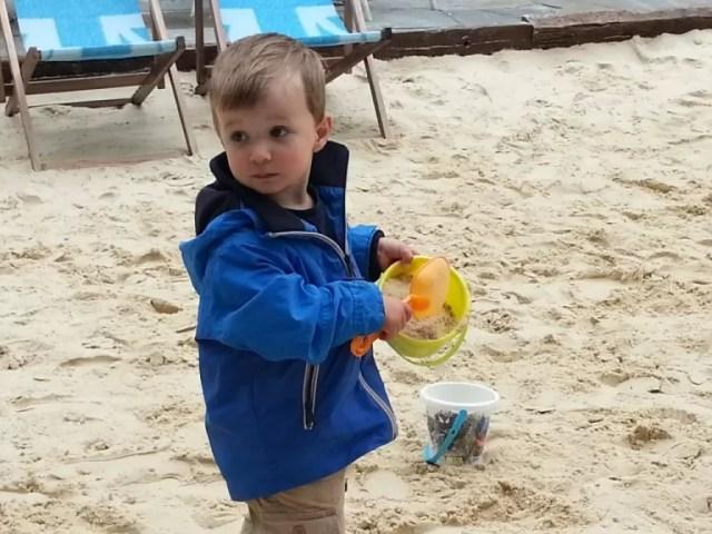 on Oxford beach