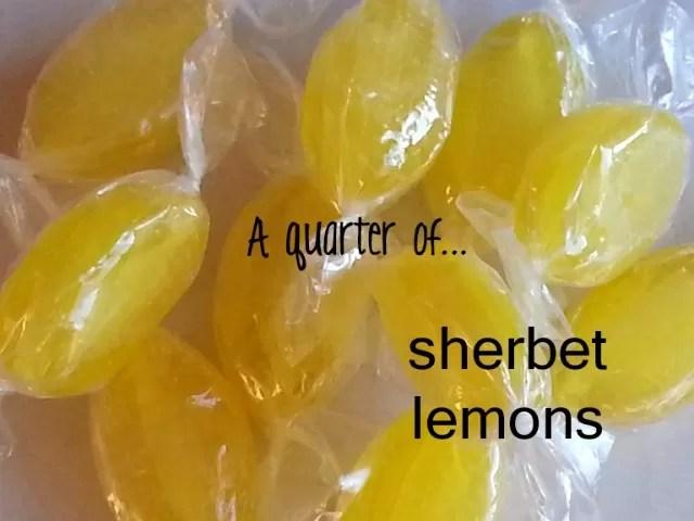 quarter of sherbet lemons