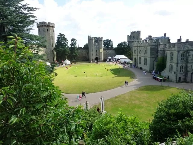warwick castle green