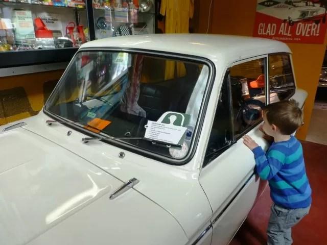 hillman imp car at cotswold motor museum