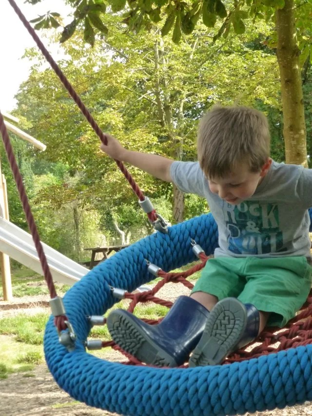 swing at cogges farm museum