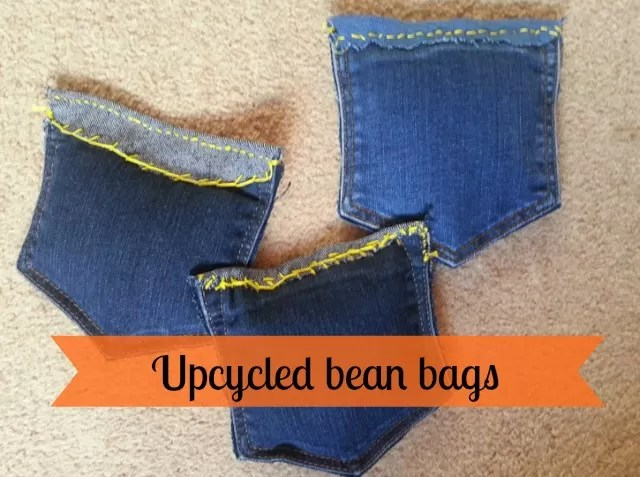 upcycled bean bags