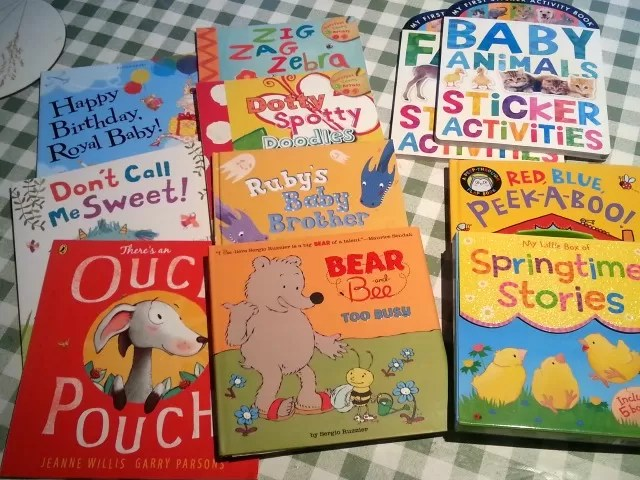 competition win of book bundle