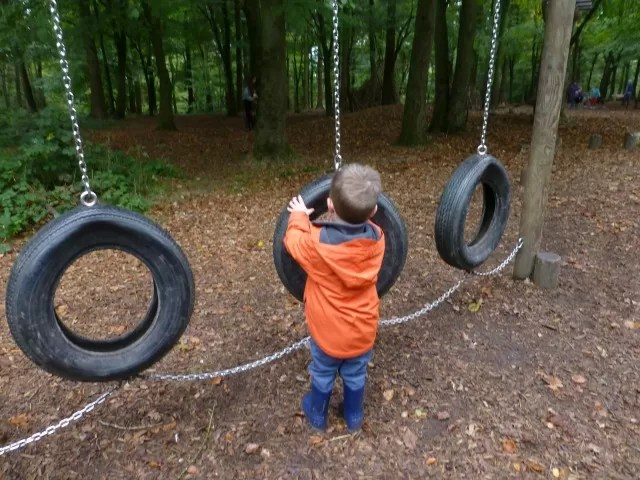 tyre obstacle course