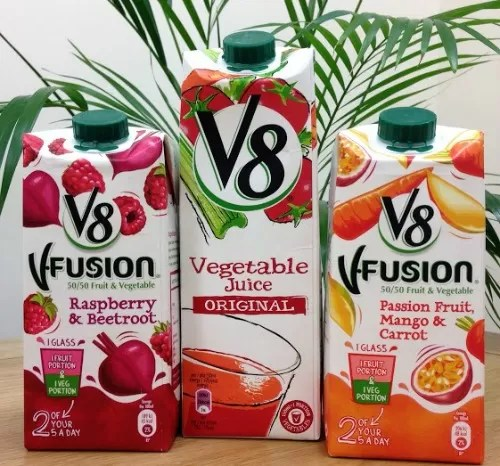 V8 V-fusion juice